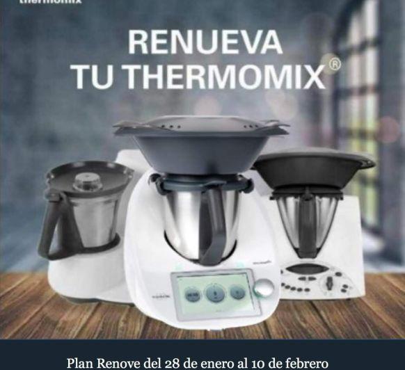 Thermomix® lanza el Plan Renove para TM21 y TM31