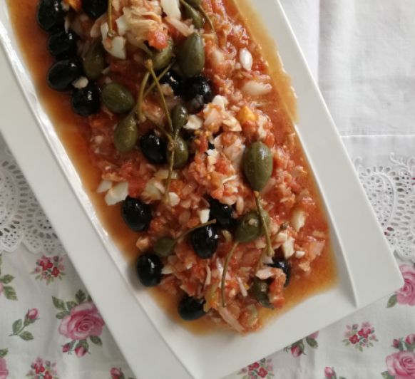 Tiempo de recetas de ensaladas con Thermomix® : ensalada murciana