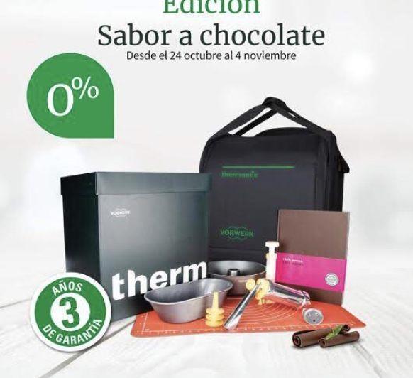 Thermomix® edición especial Chocolate, con financiación sin intereses