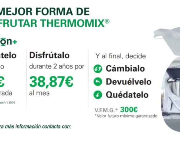 Compra tu Thermomix® financiada con opción+
