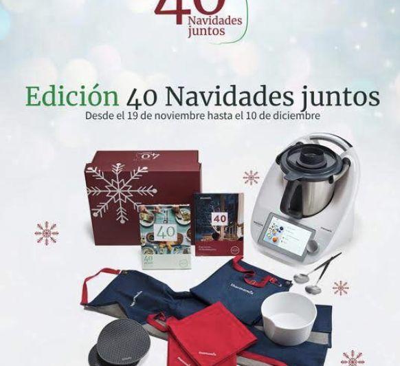 Thermomix® y la edición 40 navidades juntos y encuentra cómo conseguirlo al 0% de interés, con opción+ o al contado