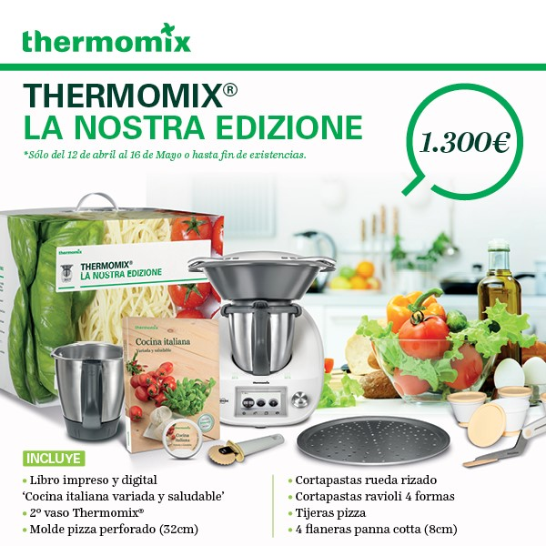 Cocina Italiana con Thermomix® Nueva Edición
