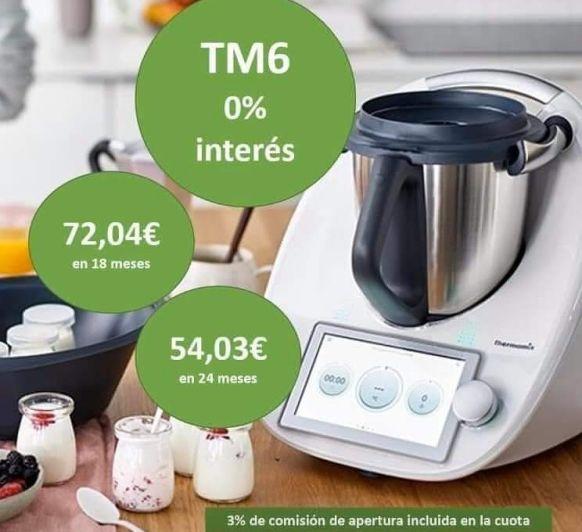 Comprar online nueva Thermomix® TM6 MAJADAHONDA. PROMOCIÓN 0% ABRIL 2020