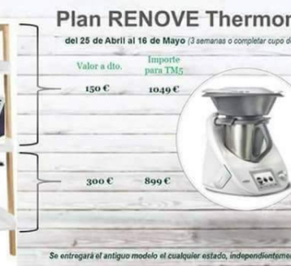 Plan Renove del Thermomix® tm3300 tm21 tm31
