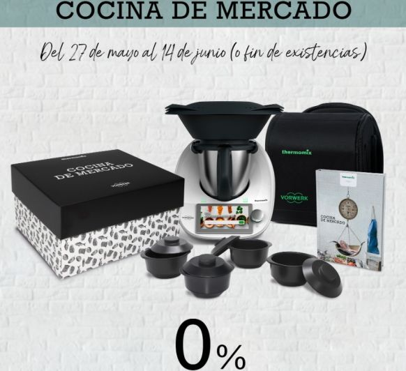 DE NUEVO EL 0% EDICIÓN ESPECIAL COCINA DE MERCADO