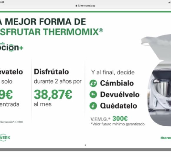 APROVECHA ESTA OPORTUNIDAD DE TENER TU Thermomix®