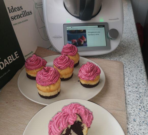 Cupcakes Tricolores