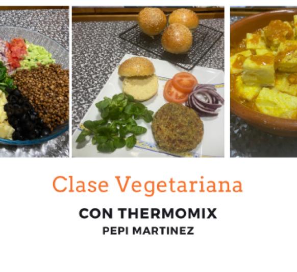 Clasé vegetariana con Thermomix®