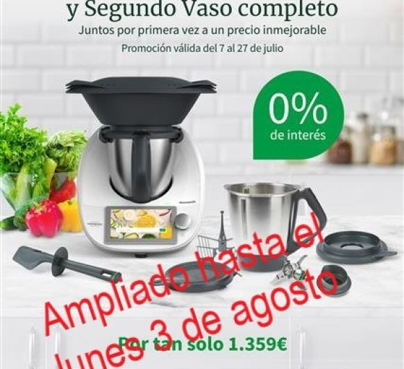 FINANCIACIÓN Thermomix® 0% AMPLIADA