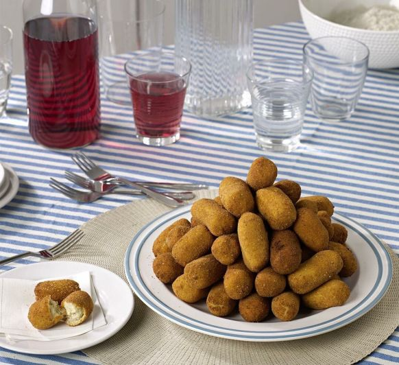 Croquetas con harina casera (Sin gluten)