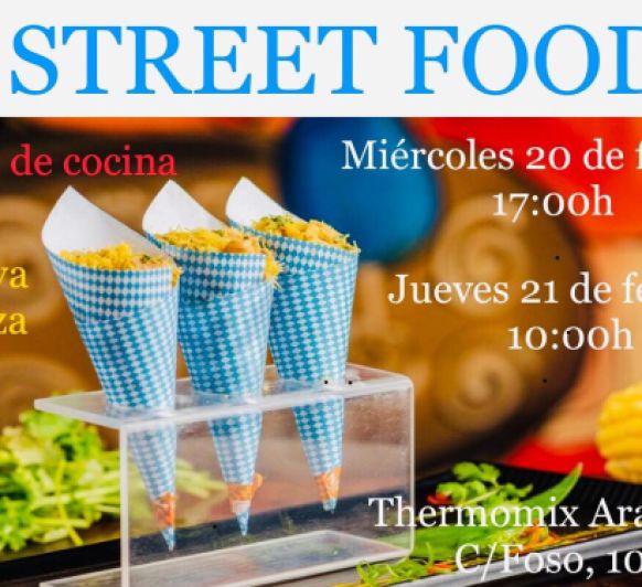 TALLER DE STREET FOOD