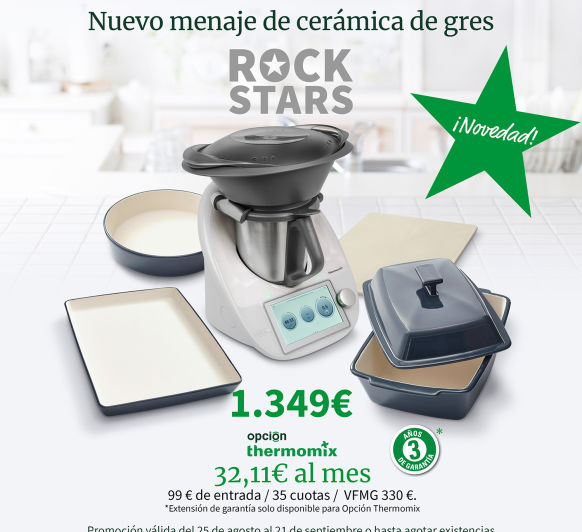 EDICCION ROCK STARS Thermomix®