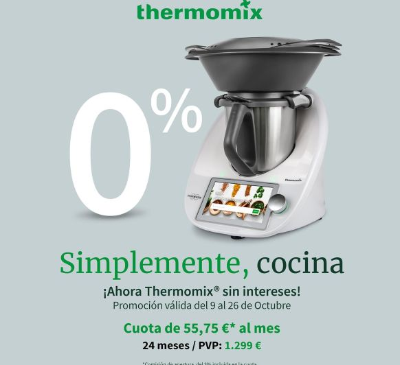 FINANCIACIÓN Thermomix® 0%