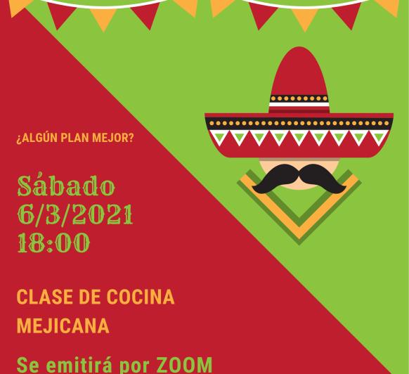 CLASE DE COCINA MEJICANA