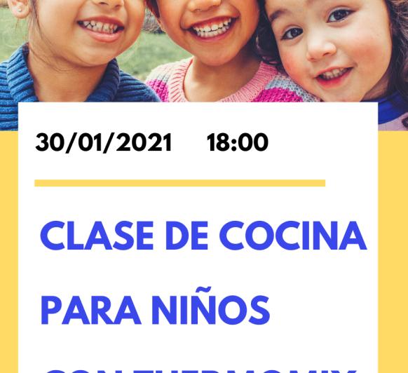 CLASE DE COCINA PARA NIÑOS CON Thermomix®