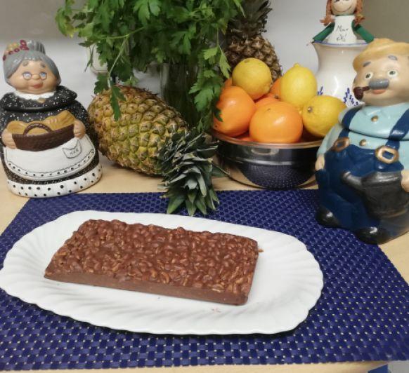 Turrón de chocolate crujiente en Thermomix® ¡(Madrid-Mendez Alvaro)
