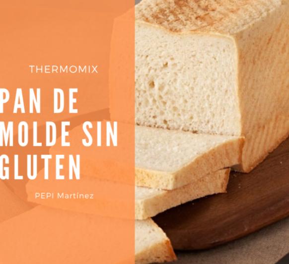 Pan de molde sin gluten Con Thermomix® . Mendez Alvaro