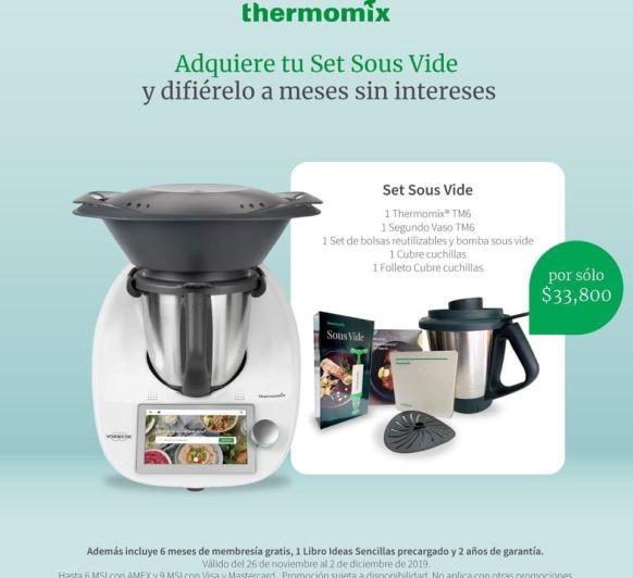 ÚLTIMOS DÍAS PARA RENOVAR TU ANTIGUO Thermomix® POR EL NUEVO TM6