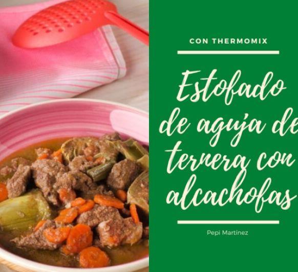 Estofado de aguja de ternera con alcachofas Con Thermomix® Madrid Mendez Alvaro