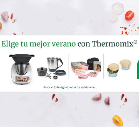 Elige tu mejor verano con Thermomix® Doble vaso por 1 Euro más