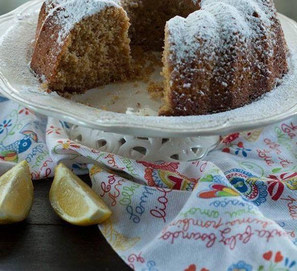 bizcocho de limón Con harina integral