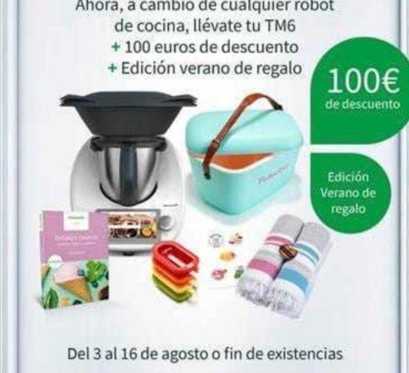 COMPRA EL NUEVO Thermomix® TM6 - EDICIÓN VERANO GRATIS Y 100€ DE DESCUENTO