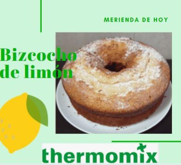 Bizcocho de limón con Thermomix®