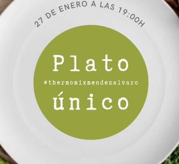 Clase PLATO UNICO CON Thermomix® MENDEZ ALVARO