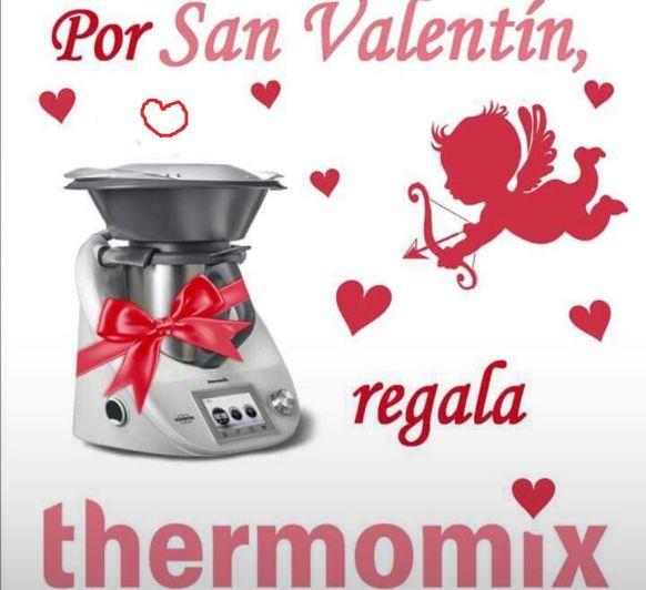 Feliz san Valentín ,con Thermomix® .