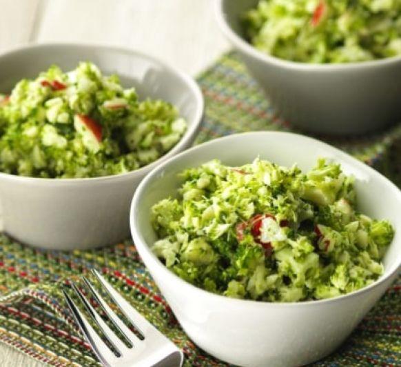 Ensalada rápida de brócoli.