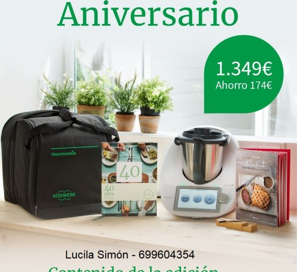 CLASES Y TALLERES 40 ANIVERSARIO Thermomix®