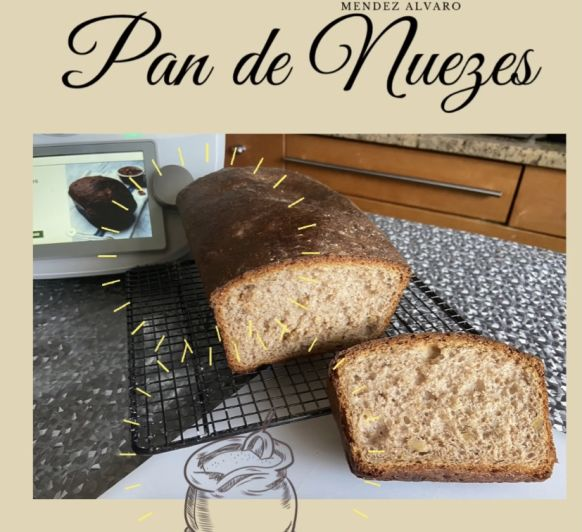 Pan de Nueces con Thermomix®