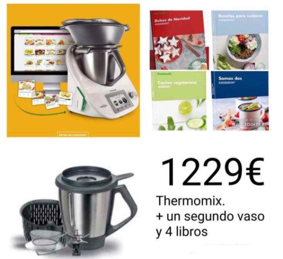 Compra y financia tu Thermomix® con un Segundo vaso con la edición Gran Oportunidad