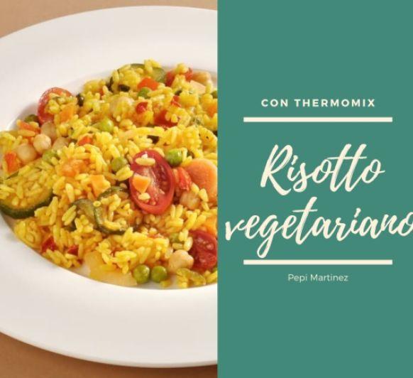 Risotto vegetariano Con Thermomix® (Mendez Alvar)