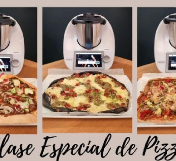 Clase especial de pizzas con Thermlmix