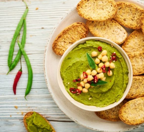 Hummus de judías verdes con Thermomix® méndez álvaro