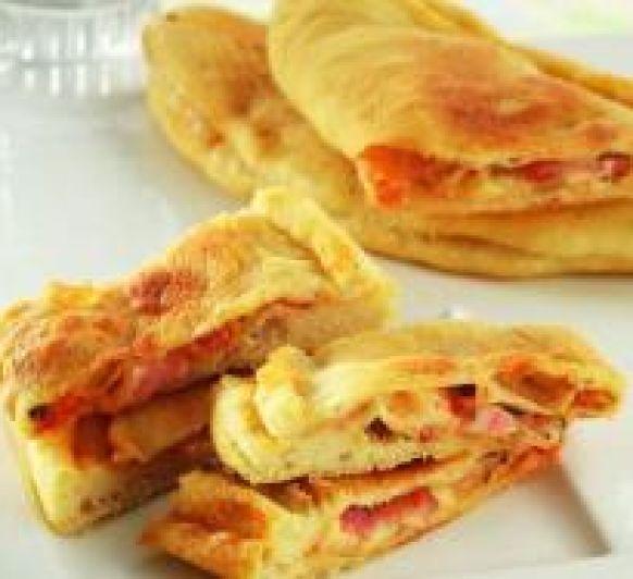 Panzerotti,receta típica italiana.