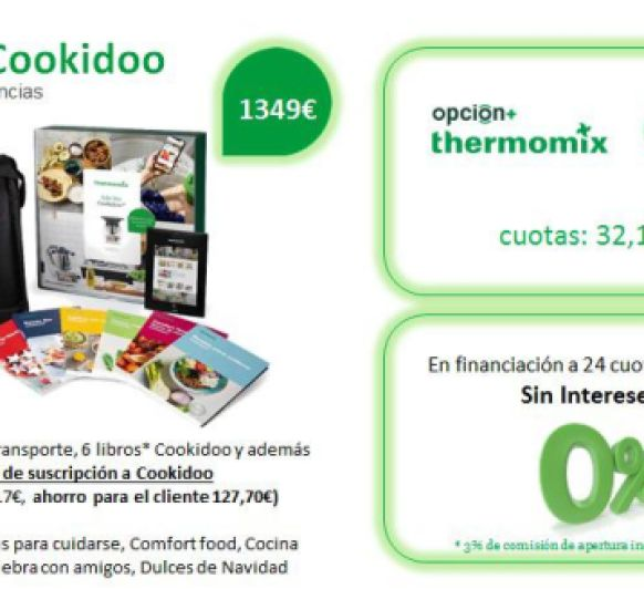 0% - TU Thermomix® SIN INTERESES