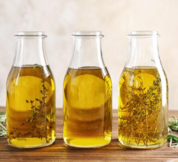 Como aromatizar el aceite.