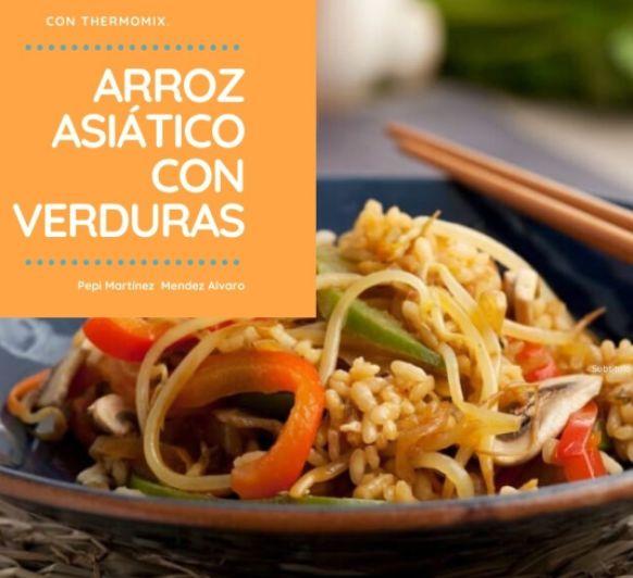 Arroz asiático con verduras con Thermomix® Mendez Alvaro