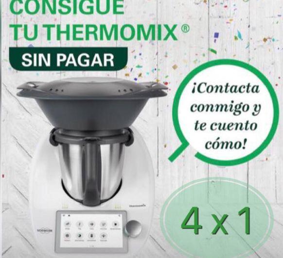 """QUIERES CONSEGUIR"""" TU Thermomix® TM6 SIN PAGAR"""