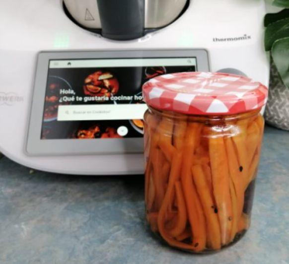 Zanahorias encurtidas con Thermomix®