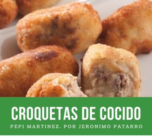 Croquetas de cocido madrileño con Thermomix® . Pepi martinez (Méndez Álvaro )