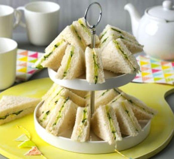 Sándwiches ingleses que desaparecen