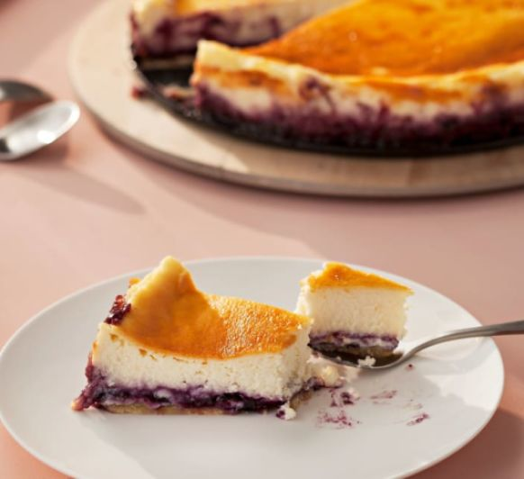 Tarta de queso (New York cheesecake). Con Thermomix®