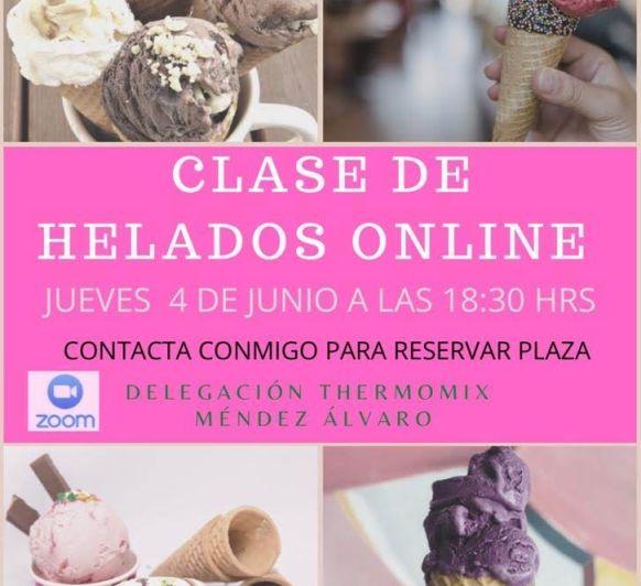 Clase de helados y sorbetes, delegación Thermomix® Méndez Álvaro