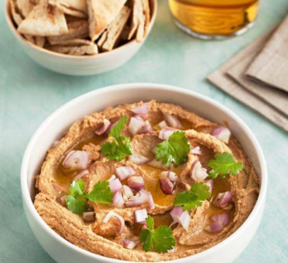 Hummus de lentejas con Thermomix® en Mendez Álvaro