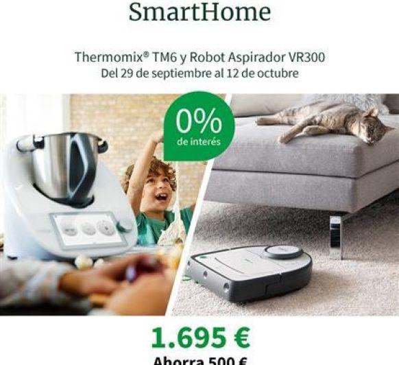 AHORRA 500€!!!! PROMOCIÓN Thermomix® TM6 + ROBOT ASPIRADOR KOBOLD