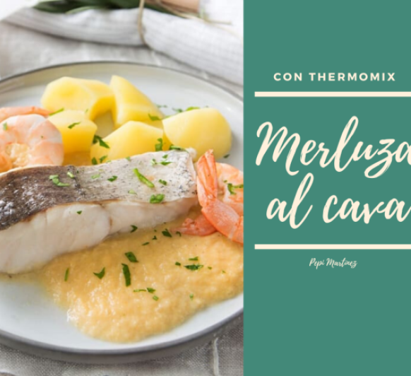 Merluza al cava Con Thermomix® (Mendez Alvaro)