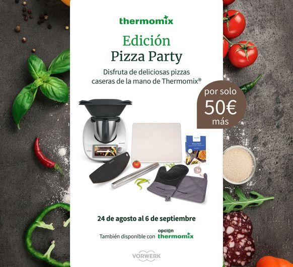 Thermomix® TM6 Edición Pizza Party